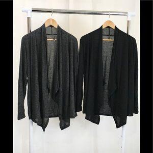 NWOT 2pk Rags&Couture Hachi Hem Cardigans Sz LG/XL